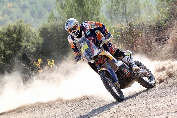 Faria, Coma y López, los Pilotos de KTM Para el Rally Dakar