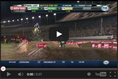 VIDEO: James Stewart hace Espectacular salto en Daytona