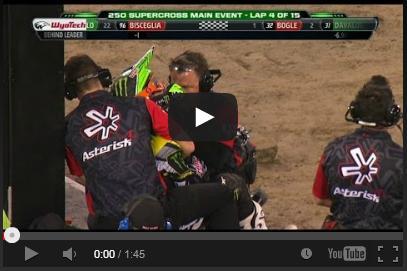 VIDEO: La Determinación de Adam Cianciarulo en el Supercross