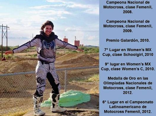 Apoyemos a Alexa Coso para el Latinoamericano de Motocross