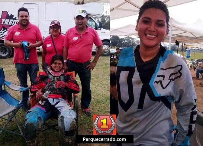 Libertad y Emoción me Genera el Motocross; Alejandra Hernández