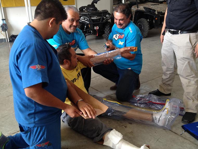 Primeros Auxilios, X Pilots y CAAT Santa Rosa en Guadalajara