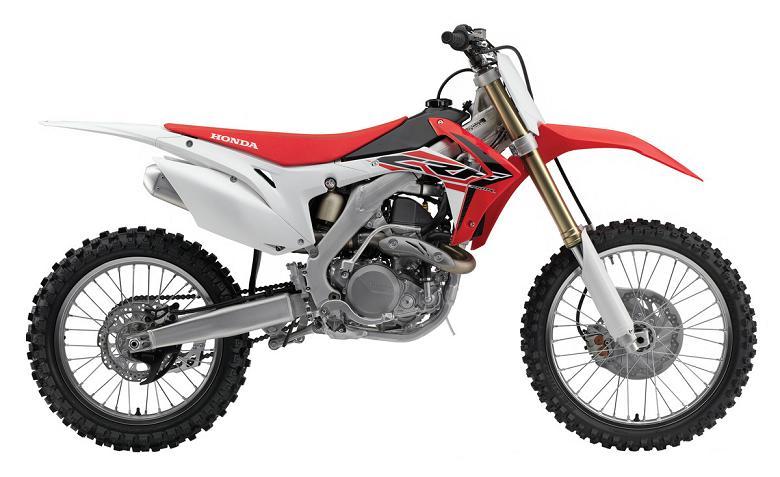 HONDA de Motocross CRF 2015; Nueva Generación en Suspensiones