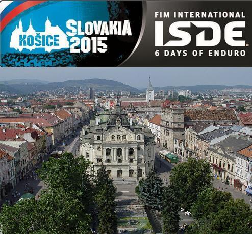 Eslovaquia, Sede de los Seis Días Internacionales de Enduro 2015