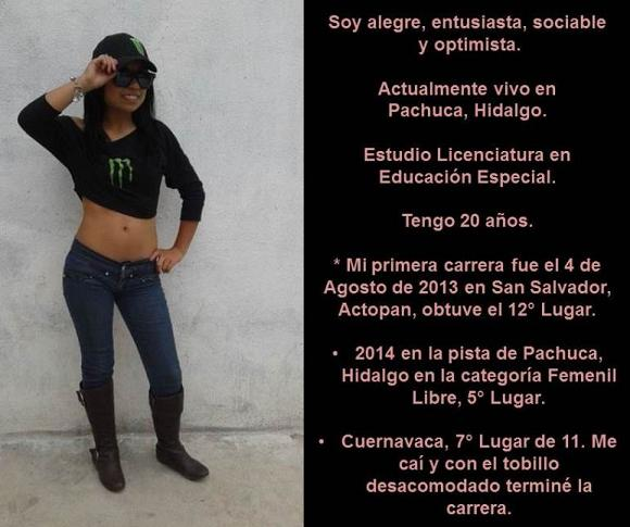 Conociendo a Nayeli Olvera Muñoz, Apasionada del Motocross