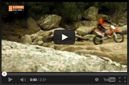 VIDEO: Ya están Aquí, las KTM de Enduro EXC 2015