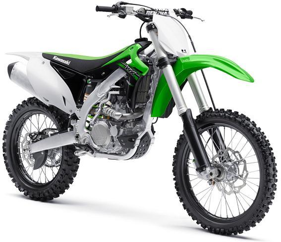 Más Tecnología en las Kawasaki KXF250 y KXF450 2015