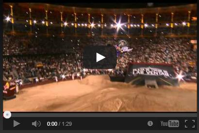 Tom Pagés Realiza el primer Bike Flip en los X-Fighters