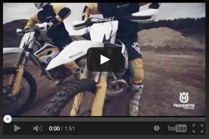 VIDEO: La Línea de Motocross y Enduro de Husqvarna 2015