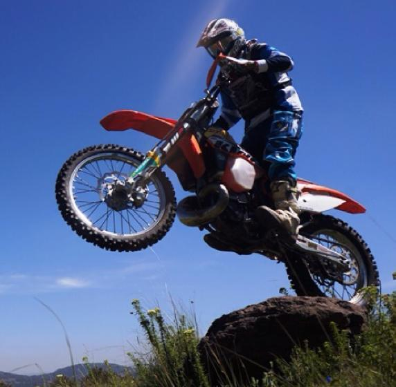 Motocross ó Enduro, Las Cross Country de KTM; Prueba XC250