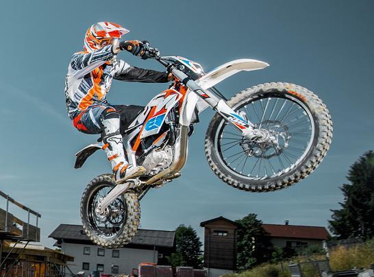 KTM Presenta la Freeride E: Moto Eléctrica, 100% Off Road