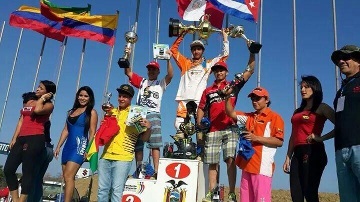 Martín Castelo, Campeón Latinoamericano de Motocross clase MX2