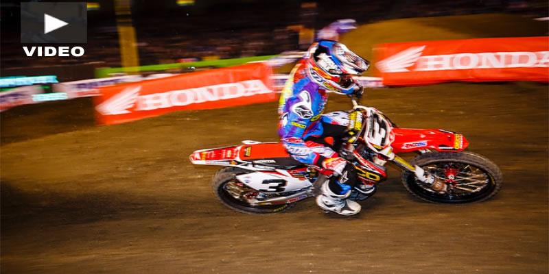 VIDEO: AMA Supercross en Phoenix, Triunfo de Tomac y Webb