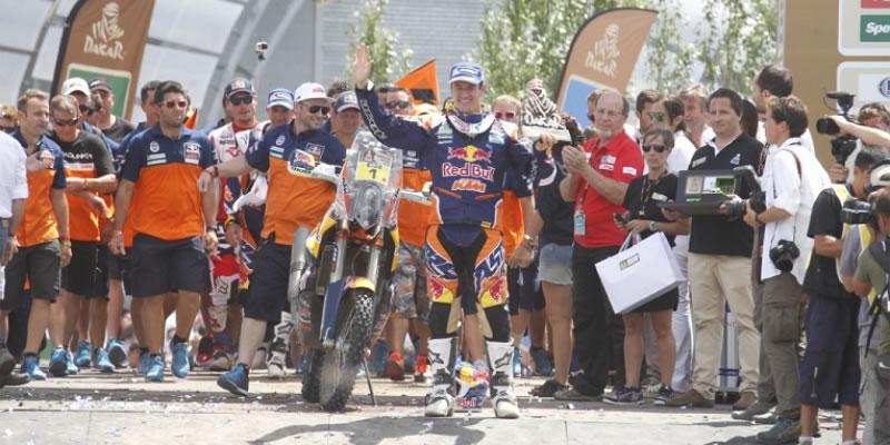 5º Título para Marc Coma en el Rally Más Duro del Mundo, el Dakar