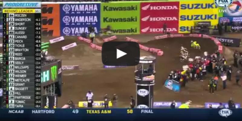 Inició el AMA Supercross con Triunfos de Roczen y de Nelson