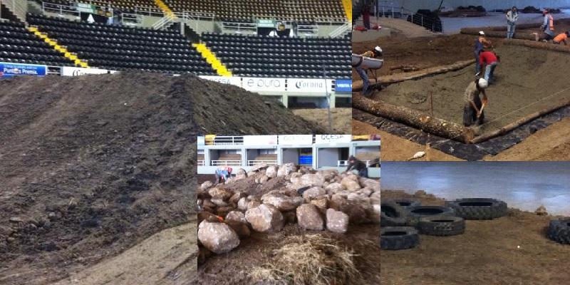 Preparando La pista Para Mundial de SuperEnduro; Sábado Gran Evento