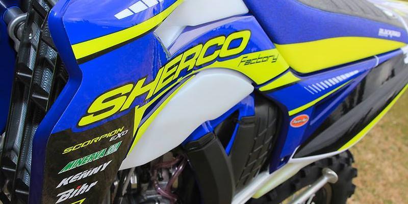 Sherco Presenta sus modelos de Enduro Factory Edition