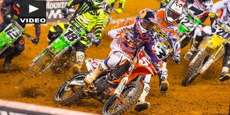 VIDEO: Dungey y Musquin Ganan el Supercross de Arlington
