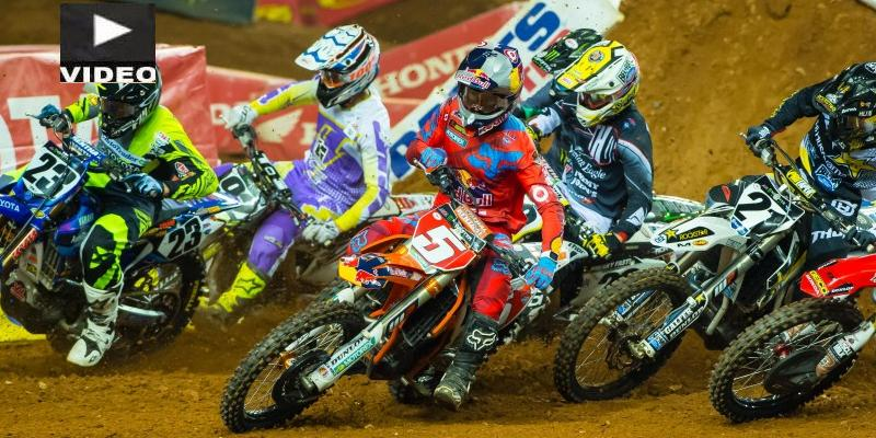 VIDEO: Reed y Martin Se Imponen en el Supercross de Atlanta