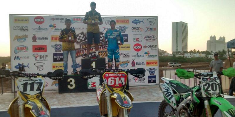Justiniano Romero se Impone en la 3ª Fecha del Nacional de Motocross