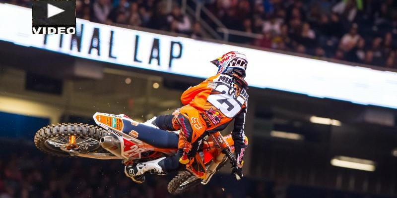 VIDEO: Imparables Dungey y Musquin en el AMA Supercross