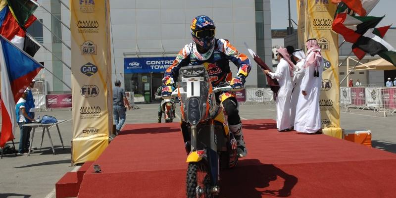 Marc Coma es líder en el FIM World Cross Countries Rally