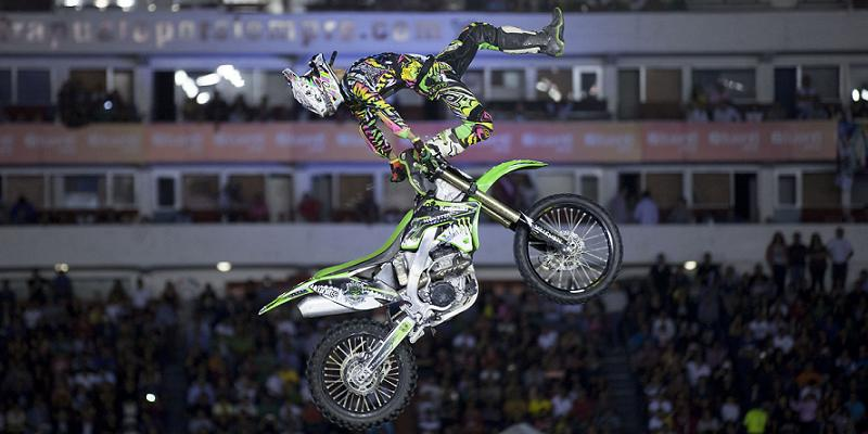 Freestyle Motocross es una competencia de dificultad y originalidad: Andrés Zambón