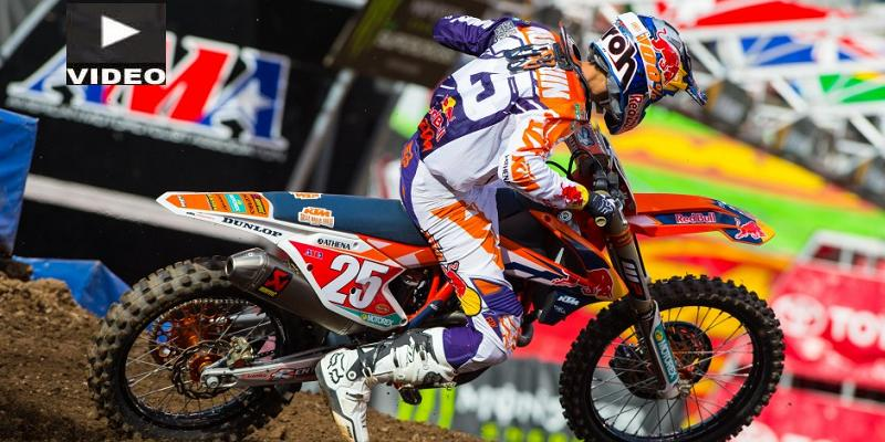 Marvin Musquin Campeón de Supercross 250 Costa Este