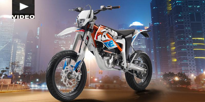 VIDEO: La KTM Freeride Eléctrica de Supermoto, en Acción