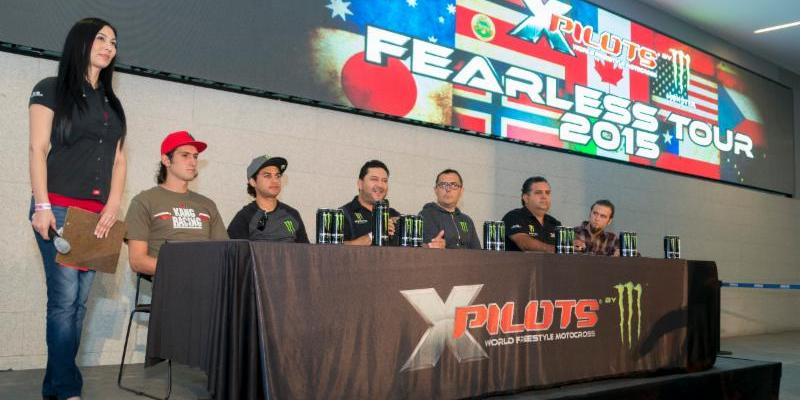 X Pilots By Monster Energy Vuelve a la Ciudad de México