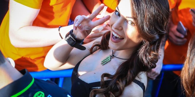 Las Bellezas del Mundial de Motocross en España