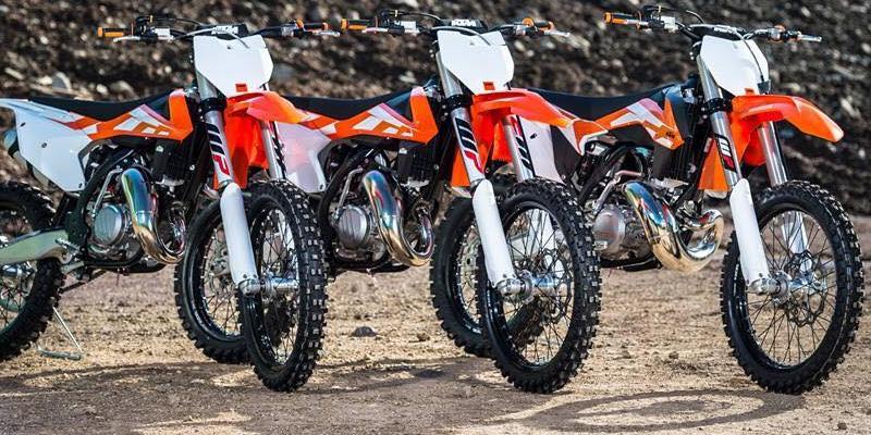 Novedades de KTM; Las 2016 de Motocross y Enduro