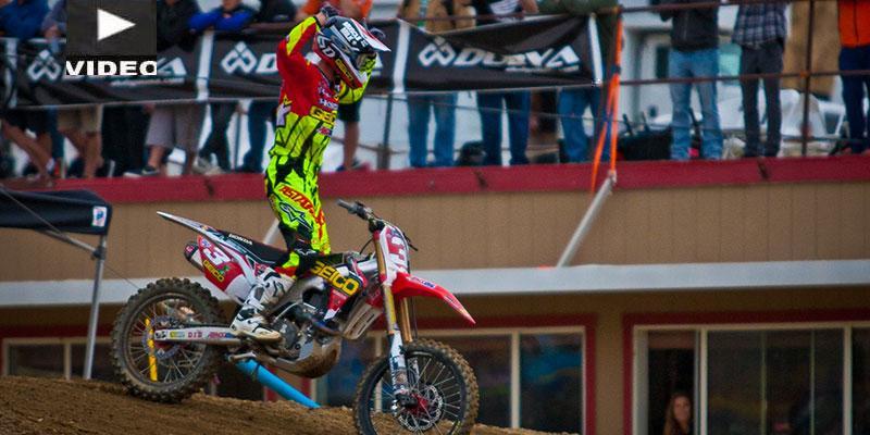 Eli Tomac Vuelve a ganar en el Pro Motocross, Ahora en Glen Helen