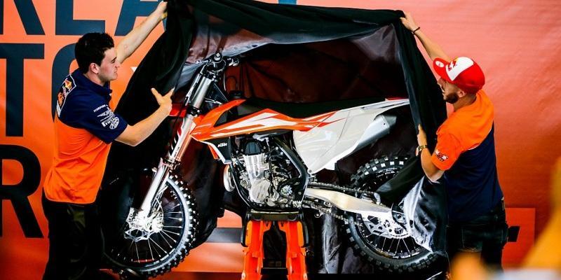 La Línea de KTM modelos 2016 de Motocross, a Detalle