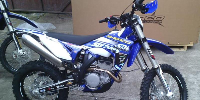 Toda la Gama Enduro Sherco Disponible: Factory, Racing, Six Days