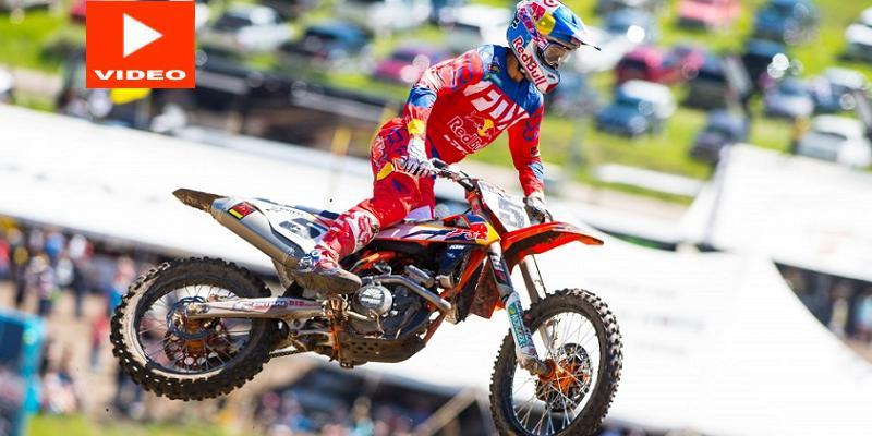 Se Lesiona Eli Tomac en el PRO Motocross; Gana Ryan Dungey