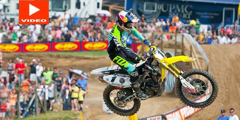 Triunfo de Ken Roczen en el PRO Motocross
