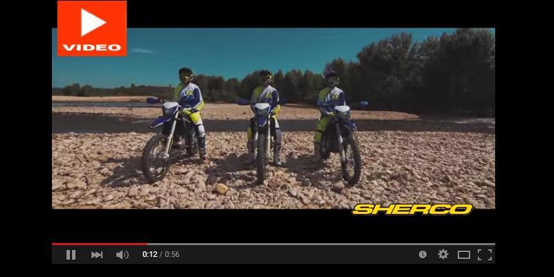 VIDEO: Presentación de la Gama Enduro Sherco 2016