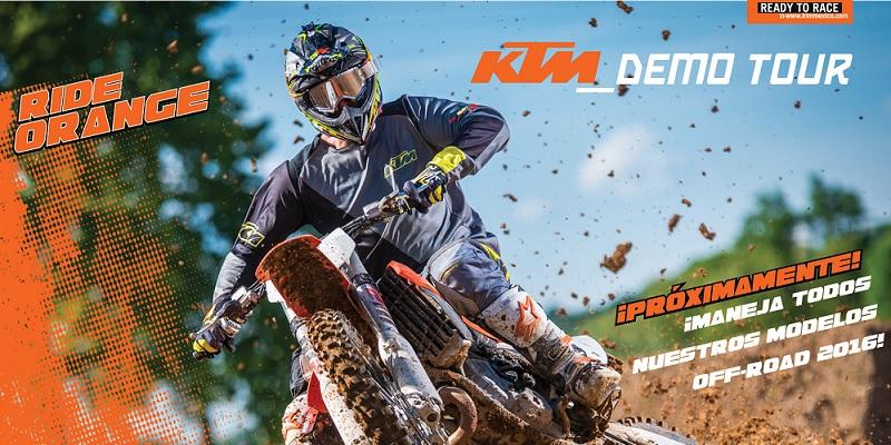 Próximamente la Campaña de KTM, Demo Tour