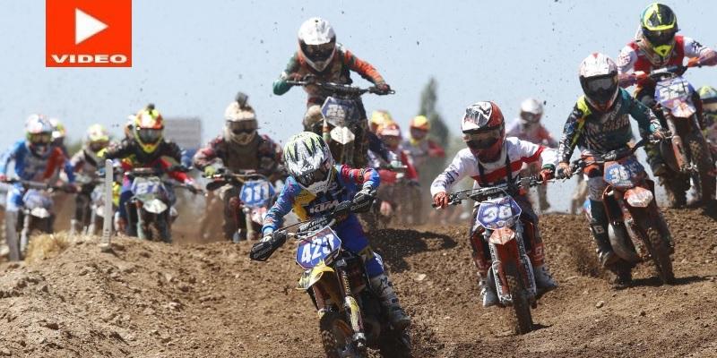 Mundial y Europeo de Motocross Junior en España