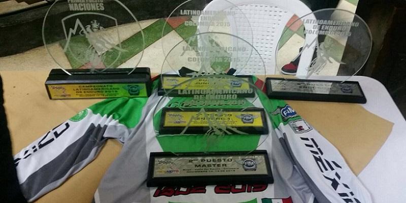 México Campeón Latino de Enduro