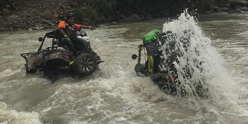 Fraternidad y off road: Jarochazo