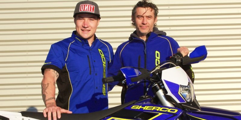 Young y Phillips en Sherco