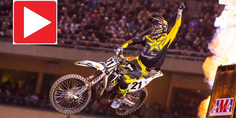 VIDEO: Supercross Anaheim I