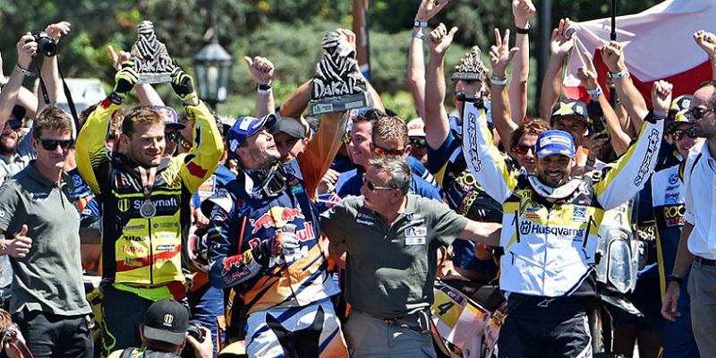 Price, Ganador del Dakar 2016