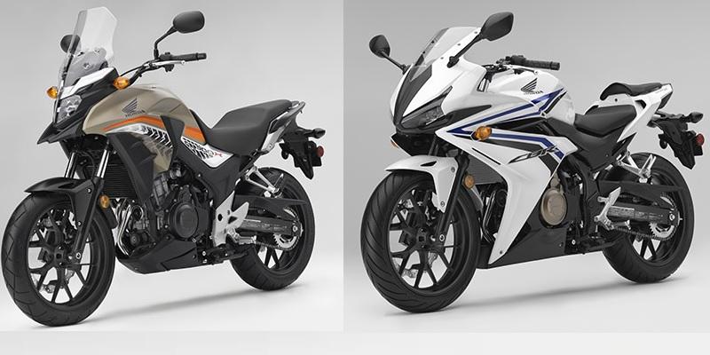 Línea de 500 cc de Honda