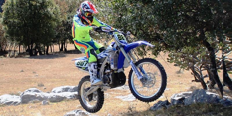 Test Yamaha YZ250FX