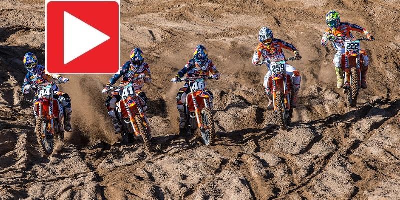VIDEO: El Equipo KTM de Motocross