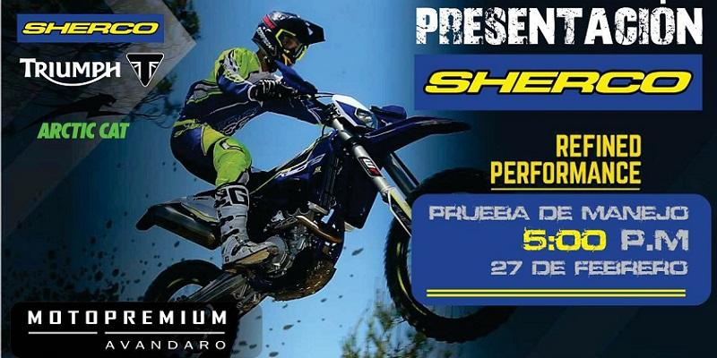 Presentación Sherco Enduro 2016
