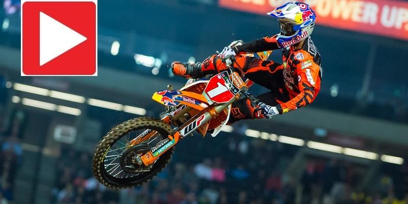 VIDEO: Supercross Atlanta Rd. 8